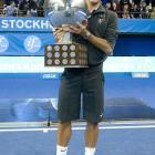 def. Florian Mayer, 6-4, 6-3 ATP World Tour 250, Hard (Indoor), €531,000 Stockholm, Sweden