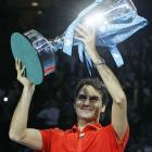 def. Rafael Nadal, 6-3, 3-6, 6-1 ATP World Tour Finals, Hard (Indoor), £2,227,500 London, United Kingdom