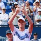 def. Andy Murray, 5-7, 7-6(2), 6-3 ATP World Tour 250, Hard, $619,500 Los Angeles, Calif.