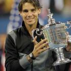 def. Novak Djokovic, 6-4, 5-7, 6-4, 6-2 Grand Slam, Hard, $10,508,000 New York, N.Y.