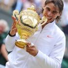def. Tomas Berdych, 6-3, 7-5, 6-4 Grand Slam, Grass, €6,196,000 Wimbledon, United Kingdom