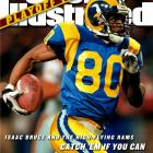 "An original member of the Rams' ""Greatest Show on Turf"" team that made two Super Bowls, Isaac Bruce's 16-year career included 14 seasons in St. Louis. Bruce holds Rams career records for receptions (942), receiving yards (14,109) and receiving touchdowns (84), and was a favorite target of fellow 2010 retiree Kurt Warner. The two hooked up for the winning touchdown in Super Bowl XXXIV. After two sub-par seasons in San Francisco, Bruce -- a four-time Pro Bowl selection -- was traded back to St. Louis in June 2010 so that he could retire as a Ram at age 37."