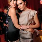 Talk about posh spice! These saucy dames sure added some zest to Elton John's AIDS Foundation Oscar wing ding in West Hollywood.
