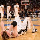 Vanderbilt Commodores center A.J. Ogilvy reacts after his team lost 66-65 to Murray State on the opening day of the NCAA tournament.
