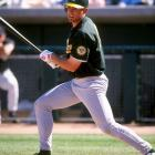 Like his father, former Rangers outfielder Tom Grieve, Ben Grieve was selected in the first round of the MLB Draft. His debut year with the Athletics proved to be one of his best with 89 RBI, a .288 batting average and selection as Rookie of the Year. His 2000 season (27 homers, .279 BA and 104 RBI) had many predicting stardom for Grieve, but he never approached those numbers again was out of the game by the end of 2005.