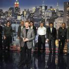 Earnhardt, Jr. and the other 2008 Chase drivers headed to the Late Show with David Letterman to present the Top 12 Perks of Being a NASCAR driver.