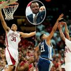 Corliss Williamson scored 29 points and grabbed 13 rebounds in Arkansas' semifinal win over Arizona to lead the Razorbacks to their first national title game, despite criticism that coach Nolan Richardson's team was too raw and undisciplined. Razorback guard Scotty Thurman drilled a three-pointer with under a minute left in the finale against Duke to seal the first NCAA tournament title for Arkansas.
