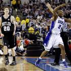 Gordon Hayward launched the most famous missed shot in NCAA tournament history in the final seconds of Duke's 61-59 win over Butler in the title game in Indianapolis. His halfcourt heave hit the backboard and rim before falling to the floor -- giving Mike Krzyzewski his fourth national championship.
