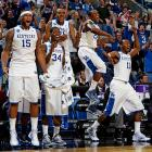 <i>Beat E. Tennessee State 100-71, Wake Forest 90-60.</i><br><br>The Wildcats tore through the opening weekend like a national title contender should, pounding a 16 seed and a slumping 9. On paper, they get the bonus of facing a 12 seed next, although with the way Cornell is shooting the ball, it may not be the bargain many would have expected. Kentucky has the best raw talent of any club left and, for a young team, also is prudent with the basketball. (Cast your vote on the last slide of this gallery.)