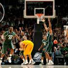 <i>Beat N. Mexico State 70-67, Maryland 85-83.</i><br><br>Like most Tom Izzo teams, these Spartans are tough. Very tough. They gutted out two wins the opening weekend, including a buzzer-beater from Korie Lucious. They're going to have to be tough now after likely losing point guard Kalin Lucas to an Achilles injury. It's hard to imagine they can overcome the loss of their leading scorer and assist man on such short notice to beat two very good teams in Saint Louis. If Izzo can pull this off, it would be exceptional. (Cast your vote on the last slide of this gallery.)