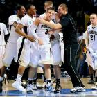 <i>Beat Siena 72-64, Texas A&M 63-61.</i><br><br>The Boilers amped up their defense in the subregional, returning to their normally stingy standards to slug their way into the Sweet 16. They've shown admirable toughness to recover to this extent from Robbie Hummel's knee injury, which looked to have derailed a possible Final Four team. Purdue should be commended for gritting through two tough games to get to the Sweet 16, but the lack of scoring punch could be too much to overcome the rest of the way. (Cast your vote on the last slide of this gallery.)