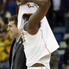 Jordan Hamilton after Texas blew an eight-point lead to lose 81-80 to Wake Forest in overtime.