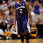 Isaiah Thomas, who scored a team-high 19 points as Washington erased a 15-point deficit to defeat Marquette.