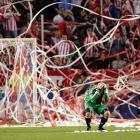 One benefit of MLS life: you never have to buy toilet paper, as Chivas USA's goalkeeper discovered during a game against the Colorado Rapids on March 26.
