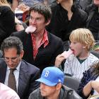 The actor-director-scribe was spotted foaming at the mouth during a Knicks game at Madison Square Garden on April 6.
