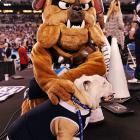No bones about it, the Butler mascot's name was apt after the scrappy Bulldogs fell to Duke in the NCAA Men's Championship Game.