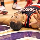 Some people will do anything to draw a foul, including faking their own death, as Mr. Howard so convincingly attempted during Portland's Game 5, first-round playoff loss to Phoenix.
