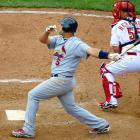.375 Average<br>7 Runs<br>4 Home Runs<br>10 RBI<br><br><i>Runner-up:</i> Miguel Cabrera (Tigers)