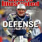 """Bruschi tied the NCAA Division I-A sack record as a defensive lineman in Arizona's """"Desert Swarm"""" defense, but he was too small to play lineman in the NFL and many thought he was too slow to play linebacker. The Patriots have developed a keen eye for the kind of intangibles that made Bruschi such an effective linebacker. He was the emotional leader of a defense that led the Patriots to three Super Bowl championships."""