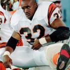 After helping Penn State to an undefeated record and finishing second in the Heisman voting as a senior, Carter went first overall to the Bengals in the '95 draft. But the Ohio native tore an ACL on the third carry of his first preseason game and ended up rushing for just 1,144 yards in 10 seasons.