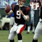 The Bengals tabbed Palmer as their quarterback of the future after the Fresno native won the Heisman Trophy during his senior year at USC. Palmer enjoyed a decorated career In Cincy despite a horrific knee injury suffered during the 2005-06 postseason. He set a number of franchise passing records, made a pair of Pro Bowls and lead Cincinnati to its first division title since 1990. The Bengals traded him to the Oakland Raiders in 2011 after he refused to play for them any more. He was traded to Arizona after the 2012 season.