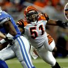The Bengals linebacker was suspended four games of the 2006 and the entirety of 2007 with various substance abuse and assault charges. Reinstated by Goodell in 2008, he was suspended indefinitely later in the year, though it is unclear whether because of character or drug issues.