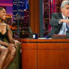 Serena's appearance on the Tonight Show with Jay Leno coincided with her inclusion in the SI Swimsuit issue.