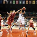 UConn and Stanford battled to a stalemate on the boards, finishing with 49 rebounds apiece.