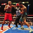 By the end of the night, Mayweather had put so many rounds in the bank that the only question was whether he would stop Mosley or be content to win a lopsided decision.