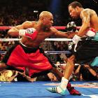 Mosley said he thought the 15-month layoff since his last fight hurt him, as did a stiff neck. But Mayweather had a lot to do with his ineffectiveness, too.