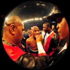 Two ringside judges scored it 119-109 for Mayweather, while the third had it 118-110.