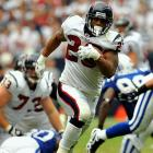 Signed as an undrafted free agent by the Texans in 2009, Foster led the NFL in rushing yards and rushing touchdowns through Week 15. He set the tone for his breakout year with 231 yards and three touchdowns against the Colts in Week 1.