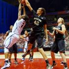 The 6-8 Baylor star has been big news, for better and worse. Previously known only within the women's circuit, Griner made highlights around the world when she punched a Texas A&M player in the nose after a physical tie-up during a game in March. Griner, then a freshman, was suspended for two games, but finished the year averaging 18.4 points, 8.5 rebounds and 6.3 blocks per game, helping the Bears to the Final Four. Baylor was ousted by undefeated UConn. Early in the 2010-11 season, Griner and Baylor nearly upset the Huskies.