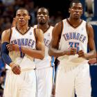 One could argue that Durant already had his breakout years ago; after all, he dominated in his one year at Texas and was the NBA Rookie of the Year in 2007-08. But consider what he accomplished in 2010: At 21, he became the youngest scoring champion (30.1 points) in NBA history, was the MVP runner-up and teamed with Westbrook to lead the Thunder to a stunning 50-win season; then, as the face and top scorer of a young team devoid of established stars, and with Westbrook by his side again, he led the Americans to the gold medal at the FIBA World Championship. Durant hasn't been quite as good early in the 2010-11 season, but Westbrook has emerged as another OKC MVP candidate as the Thuand another breakout star, Russell Westbrook, have the Thunder competing for a top-four seed in the West.
