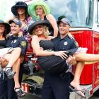 Such a hot time was had at the Kentucky Derby that the fire department was called in.