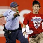 """Steve Consalvi was a shocking sight after he ran on the field during a game at Citizens Bank Park on May 3. """"He wasn't drinking. He was not on drugs,"""" Consalvi's father told the  Philadelphia Inquirer . The lad was just going through a taze that he will quickly outgrow."""