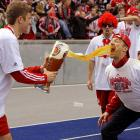 """The lads of Bayern Munich went for the gusto while celebrating their 3-1 win over Hertha Berlin on May 8. According to our German-to-English dictionary, """"bundesliga"""" means """"drinking beer until the flow goes the other way."""""""