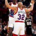 "In Philadelphia, Bol fast became friends with Charles Barkley. ""You know, a lot of people feel sorry for him, because he's so tall and awkward,"" Barkley said of Bol in a 1990 SI feature. ""But I'll tell you this -- if everyone in the world was a Manute Bol, it's a world I'd want to live in. He's smart. He reads The New York Times. He knows what's going on in a lot of subjects. He's not one of these just-basketball guys. Basketball's just one percent of it. You know what he was talking about the other day? Milk. He was saying that he grew up on milk straight from the cow. Squeezed it himself. Milk. He says, 'Charlie, what's this lo-fat milk, this two percent milk, all of this other milk? Cows don't give lo-fat milk, two percent milk. We shouldn't drink it.' I don't know. Maybe he's got something."""