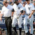 After four consecutive seasons in which he played at least 140 games, Granderson injured his groin just 23 games into the 2010 season, sidelining him for almost a month.