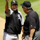 "After umpire Joe West ejected him from the game: ""I don't think he has the right and the power to let people know who is the chief on the field. We know he has to control the game, we know he has to control all the s---, but in the meanwhile, I don't think it was the right thing to do, like we balked him while we were on the field.  Joe has been like that for a lot of years, and he's always going to be like this. I'm not going to change it, nobody is going to change it, but sometimes he thinks f---ing people pay to watch him f---ing umpire.  He's the type of guy that wants to control the game, it's good for the game, and to me one of the best umpires in the game, no doubt. But in the meanwhile, those years are on his shoulders and kind of heavy and showing people who he is. I deserve respect and the players here deserve respect here, too. When you tell the manager to get the f--- off the field, I don't think that's a good way to handle situations. No matter what you say, what you do, how long you talk here, Major League Baseball doesn't do s--- for anything. I'll be waiting for my fine, get 'em the next day."""