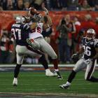 David Tyree's helmet catch helped the Giants knock off the perfect Patriots at University of Phoenix Stadium in Glendale, Ariz., in Super Bowl XLII in 2008. Years hosted: 1996, 2008