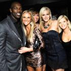 In town for the Kentucky Derby, T.O. posed with some ladies at Prime Lounge's Playboy Celebrity Party the night before the race.