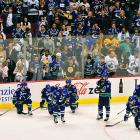 The Canucks joined the NHL for 1970-71, and have sent three teams to the Stanley Cup Final. The 1981-82 squad was waxed by the dynastic Islanders in four games.  The 1993-94 edition gave the Rangers a valiant seven-game battle before succumbing. The 2010-11 Canucks won the Presidents' Trophy for the league's best overall record and had a 3-2 series lead in the Stanley Cup Final against the Bruins, but the team collapsed with a 5-2 loss in Game 6 and a 4-0 defeat at home in Game 7.