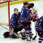 Coming into the league in a blaze of ineptitude (8-67-5) in 1974-75, the Capitals have since contested for the Cup once: in 1998, when they were swept aside by Steve Yzeman's Red Wings.