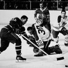 With the Blackhawks ending their 49-year wait for the Stanley Cup in 2010, the NHL's longest-active drought belongs to the Leafs, who won their last Cup in 1967 by beating Montreal in six games. They've been to the semifinal round (or conference finals) five times since: 1978, '93, '94, '99 and 2002.