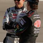 """""""Jeff's had such a good year going.  Two victories have slipped through his fingers, so I think it's ... I was the straw that broke the camel's back. And when the microphone was there, it was easy just to go [off].""""     Jimmie Johnson on his feud with Jeff Gordon"""