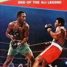 In his first bout with Joe Frazier, Ali lost a 15-round decision at Madison Square Garden in March 1971.