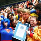 The Justice League of America convened on May 23 at Twickenham Stadium in London where a Guinness World Record was set (we kid you not) for the largest gathering of people dressed as super heroes.