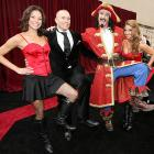 With the good captain and his Morganettes still spreading the word about the joys of warmhearted wenches and flagons of rum, the UFC bruiser got in on the act at the Spike Guys' Choice Awards in Los Angeles.