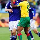 As we just said, love can bloom anywhere at any time in the wonderful world of sports, even during the world's biggest soccer tournament, as Keisuke Honda of Japan and Cameroon's Samuel Eto'o demonstrate.